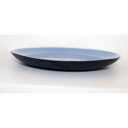 Assiette bleue 23 cm Ø