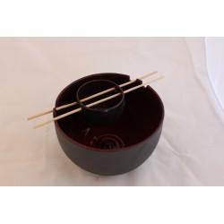 Bol à thé rouge avec infuseur