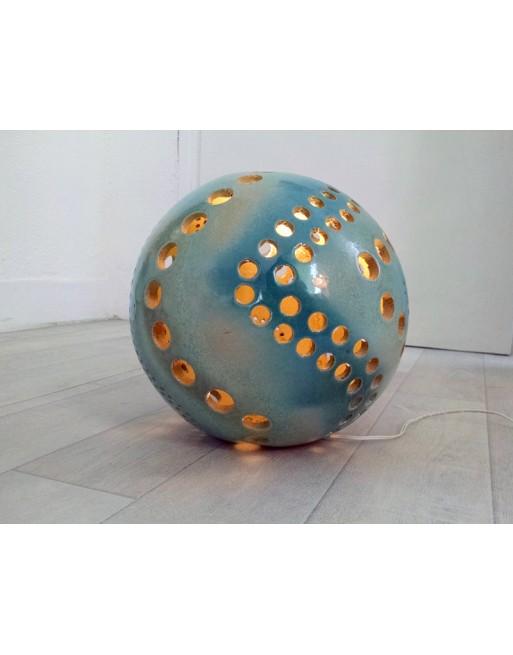 Sphère luminaire diamètre 25 cm