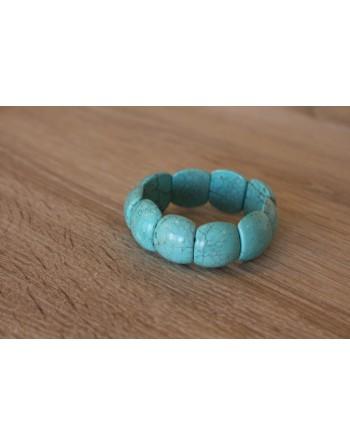Bracelet Howlite turquoise