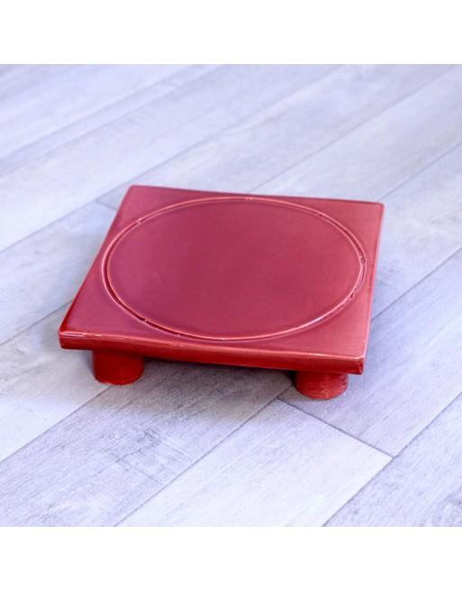 Dynamiseur d'aliments carré rouge