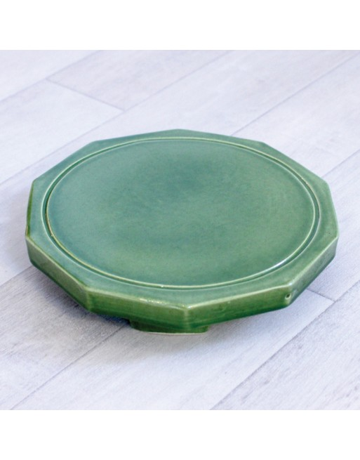 Dynamiseur d'aliments décagone vert