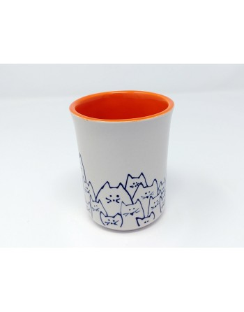 Tasse chat - orange