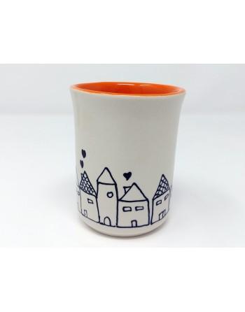 Tasse maison - orange