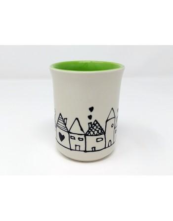 Tasse maison - vert