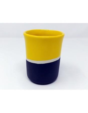 Tasse - noir et jaune