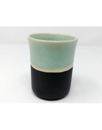 Tasse - noir et turquoise