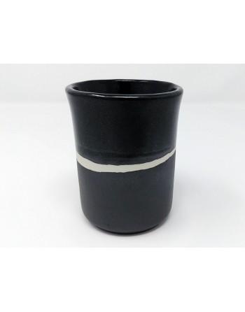 Tasse - noir mat et brillant