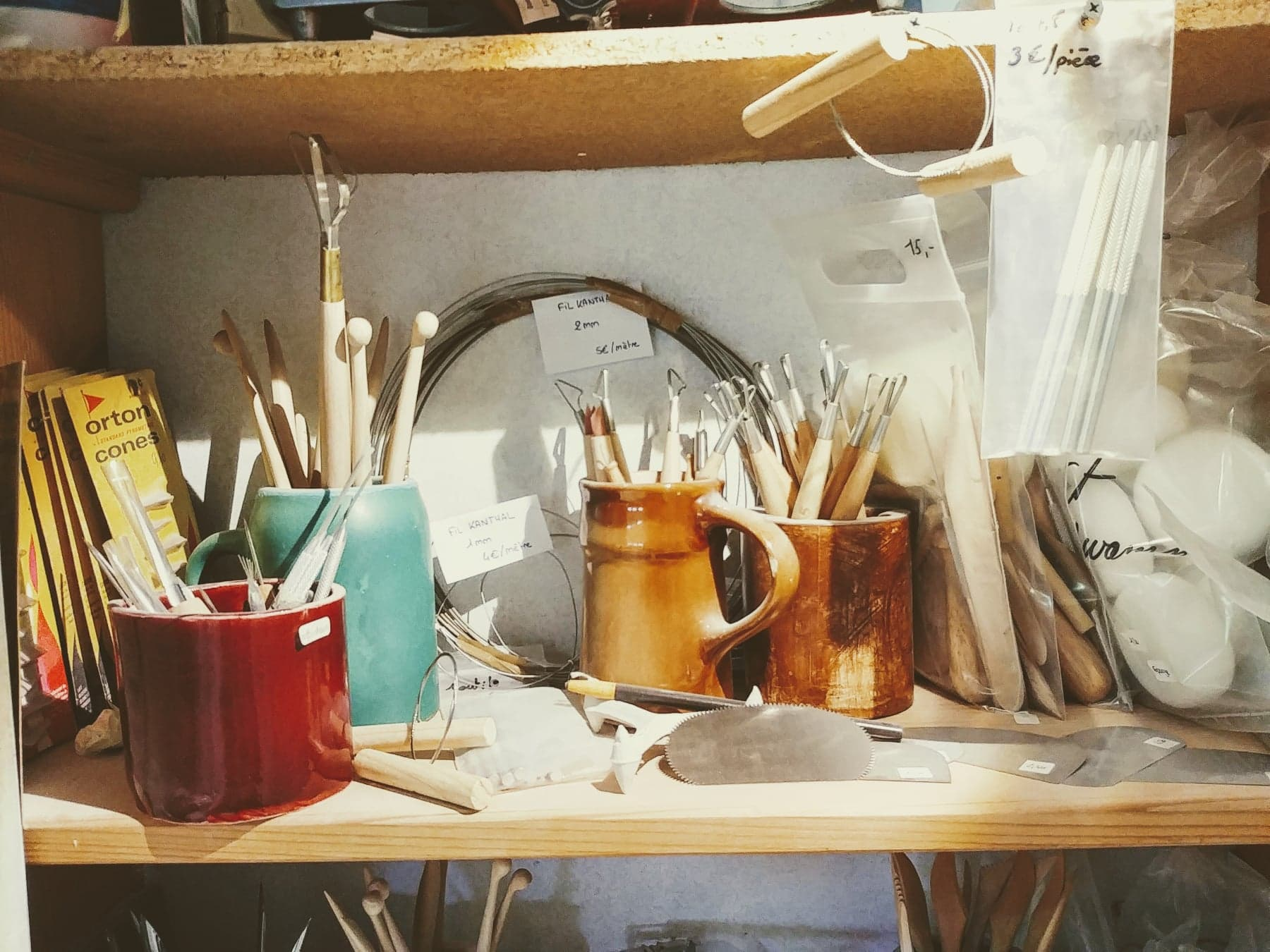 outils céramique alsace