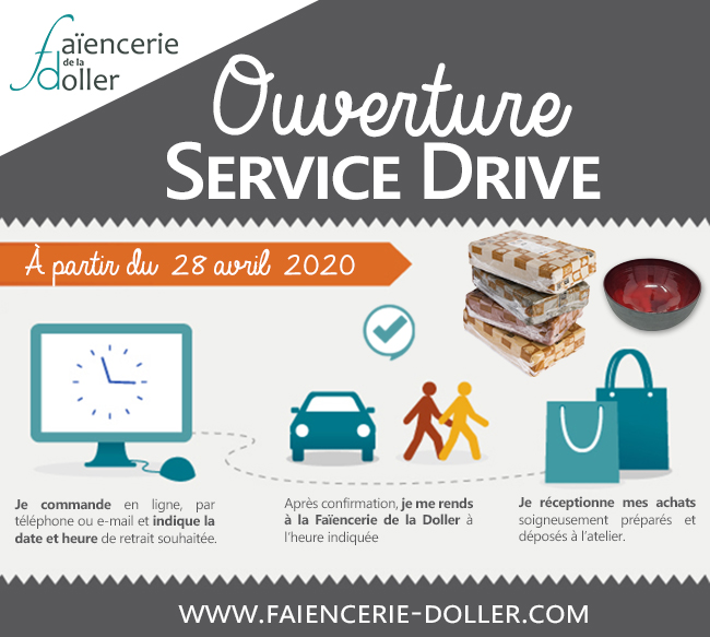 service drive click and collect