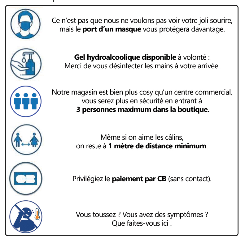 regles sanitaires covid